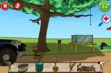 Rube Works: The Official Rube Goldberg Invention Game iPhone Level 3, initial screen with toolbox objects