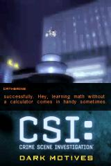 CSI: Crime Scene Investigation - Dark Motives Nintendo DS Reconstruction of the crime.