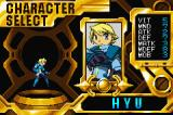 Advance Guardian Heroes Game Boy Advance Character select - Hyu
