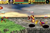 Advance Guardian Heroes Game Boy Advance The third player (CPU)just observes...  Clever!