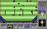 Australian Rules Football Commodore 64 Aussie Action