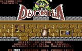 Count Duckula in No Sax Please - We're Egyptian Commodore 64 Title Screen