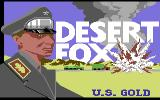 Desert Fox Commodore 64 Title Screen