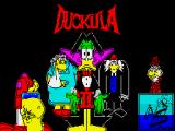 Count Duckula 2 Featuring Tremendous Terence ZX Spectrum Title screen