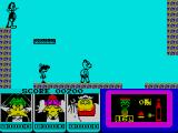 Count Duckula 2 Featuring Tremendous Terence ZX Spectrum Second screen/waiting for platform
