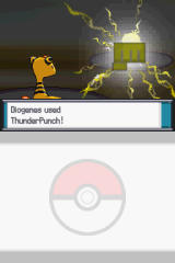Pokémon: HeartGold Version Nintendo DS Physical attacks augmented by elemental damage.