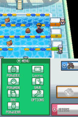 Pokémon HeartGold Version Nintendo DS This gym require a pokémon that can be ridden through water.