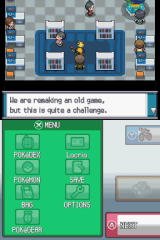 Pokémon HeartGold Version Nintendo DS This is the in-game office of Game Freak Inc. All the developers have encouragement to give!