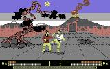 Samurai Trilogy Commodore 64 Fighting Action