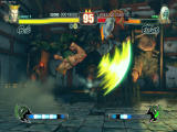 Street Fighter IV Windows Guile's flashkick