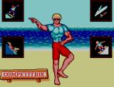California Games II SEGA Master System Main menu