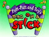 Putt-Putt and Pep's Dog on a Stick Windows Title screen