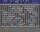 FourMaze Amiga A bonus question mark appears