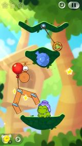 Cut the Rope 2 iPhone Level from Chapter 1