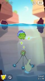 Cut the Rope 2 iPhone Level from Chapter 2