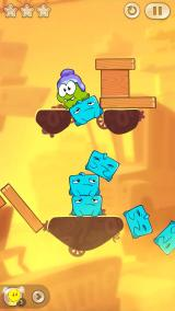 Cut the Rope 2 iPhone Level from Chapter 3