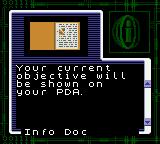 Resident Evil: Gaiden Game Boy Color Receiving a file