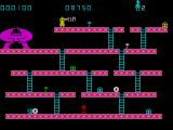 Kong ZX Spectrum Touching a barrel kills you instantly.