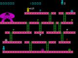 Kong ZX Spectrum Level 2 isn't much different in layout to the first level.