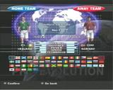 Pro Evolution Soccer PlayStation 2 Team Selection Screen