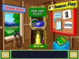 Backyard Baseball 2001 Windows The main menu