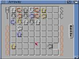 Arroway Amiga Two arrows have been isolated