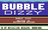 Bubble Dizzy Commodore 64 Menu