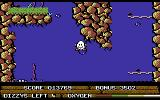 Bubble Dizzy Commodore 64 Careful, don't hit your head on the rocks!