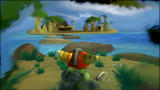 Ratchet & Clank: Size Matters PlayStation 2 The dream-like view of Pokitaru is heavily distorted