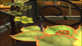 Ratchet & Clank: Size Matters PlayStation 2 Run up the petals before they all burn!