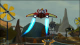Ratchet & Clank: Size Matters PlayStation 2 Blasting off from Dayni Moon