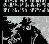 Darkman Game Boy Darkman seeks revenge