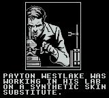 Darkman Game Boy The scientist hard at work