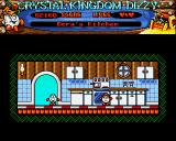 Crystal Kingdom Dizzy Amiga One of many characters you'll meet...