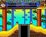 Crystal Kingdom Dizzy Amiga I wonder where this platform goes?