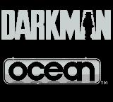 Darkman Game Boy and turns into a shadow on the title screen