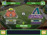 Backyard Baseball 2003 Windows Playing in today's game. I decided to be the Home team this time.