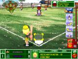 Backyard Baseball 2003 Windows The pitching perspective.