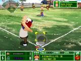 Backyard Baseball 2003 Windows Gotta love that motion blur.