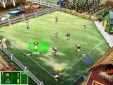 Backyard Baseball 2003 Windows Getting the players in the right spot can be a huge pain.