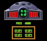 Cyber Spin SNES Special Password.