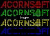 Snapper BBC Micro Loading screen