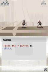 Assassin's Creed II: Discovery Nintendo DS Animus - combat tutorial.