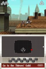 Assassin's Creed II: Discovery Nintendo DS Sword fighting on the rooftops of Venice.