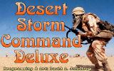 Desert Storm Command Deluxe DOS title screen