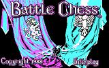 Battle Chess DOS Title screen (CGA)