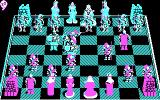 Battle Chess DOS Fight animation - quite nice (CGA)