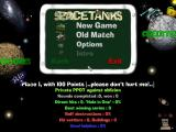 SpaceTanks Windows Main menu