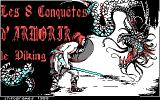 Armorik the Viking: The Eight Conquests DOS Title screen - French version (CGA)