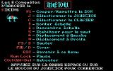 Armorik the Viking: The Eight Conquests DOS Menu - French version (CGA)